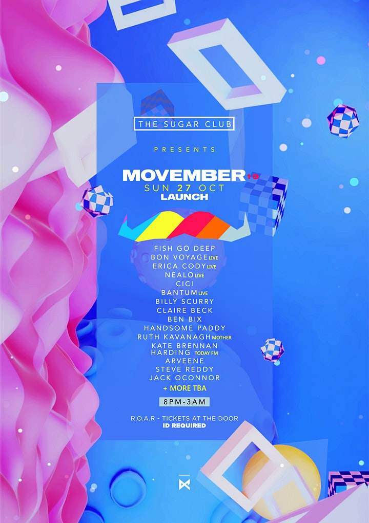 Movember Launch 2019 image