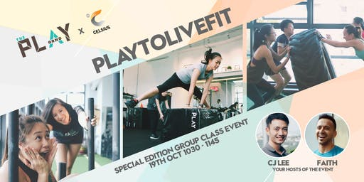 PLAYTOLIVEFIT Special Group Class Event By CELSIUS® Fitness Drink