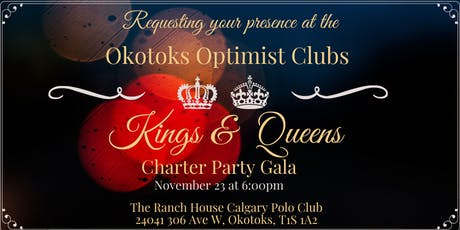 Okotoks Optimist Clubs Charter Party Gala tickets