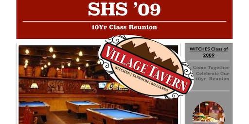 Salem High Class of 2009's 10 Year Reunion