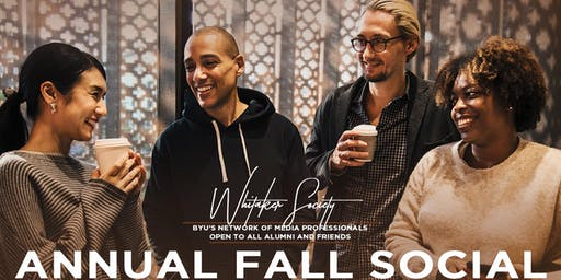 The Whitaker Society 3rd Annual Fall Social