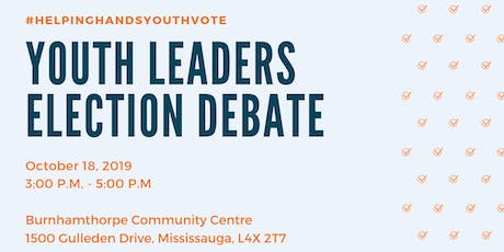 Youth Leaders Election Debate tickets