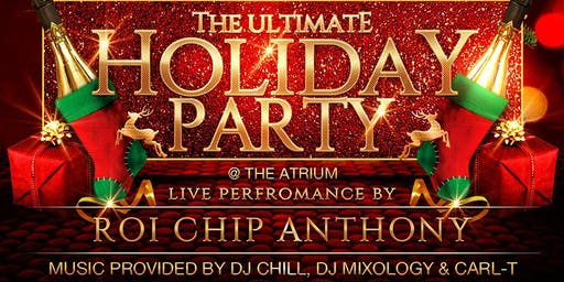 The Ultimate Holiday Party in the Atrium