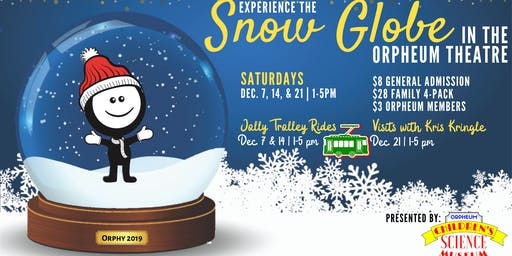 Snow Globe Jolly Trolly Ride (Dec. 14, 2019)