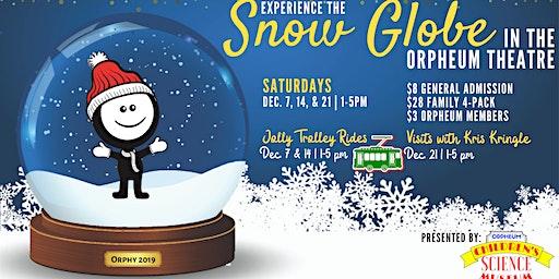 Snow Globe Jolly Trolly Ride (Dec. 14, 2019)