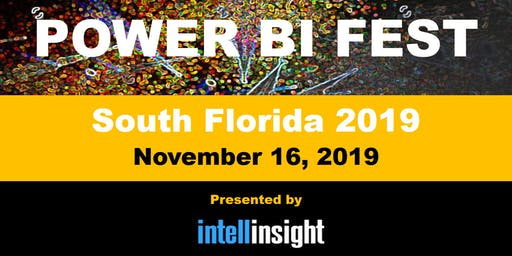 Power BI Fest - A Full Free Day of Power BI, PowerApps and Microsoft Flow