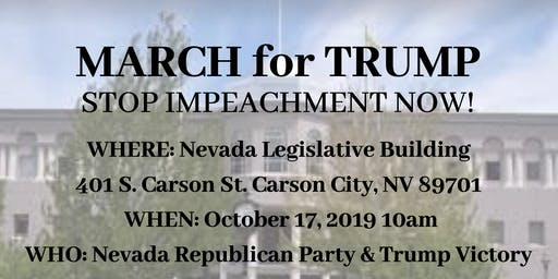 March for Trump - Carson City