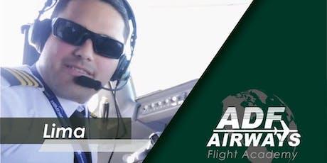 Charla Informativa ADF Airways Lima, Perú entradas