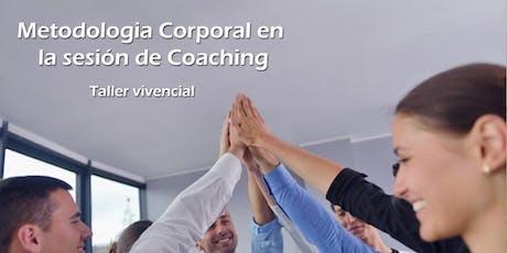 Metodología corporal en la sesión de Coaching entradas