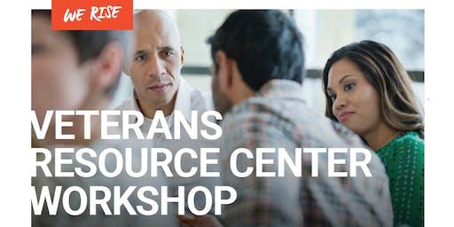 Veterans Resource Center Workshop