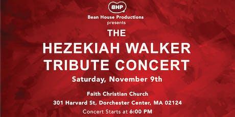 Hezekiah Walker Tribute Concert tickets