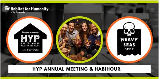Habitat Young Professionals Annual Meeting and HabiHour