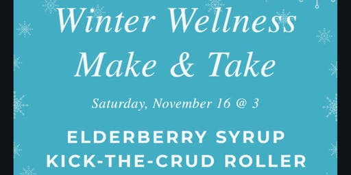 Winter Wellness Make & Take With dōTERRA
