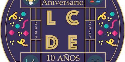 X Aniversario LCDE