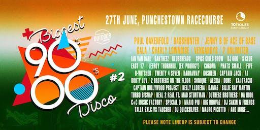 Biggest 90s 00s disco outdoor festival
