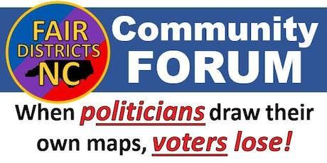 Fair Districts Forum - North Wilkesboro tickets