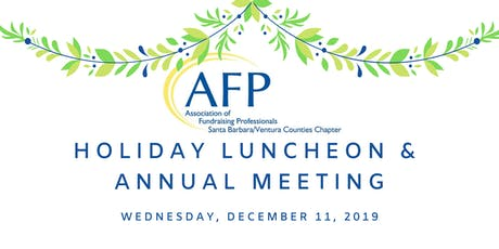 AFPSBV's Holiday Luncheon & Annual Meeting tickets