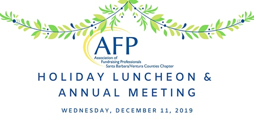 AFPSBV's Holiday Luncheon & Annual Meeting