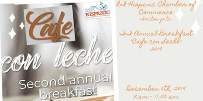 """II Annual Breakfast """"Cafe *** Leche"""" 2019"""