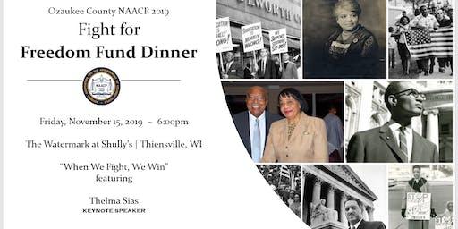 Ozaukee County NAACP 2019 Freedom Fund Dinner