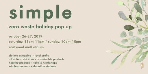 Simple: Zero Waste Holiday Pop Up