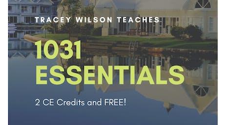 October 1031 Essentials - 2CE & FREE