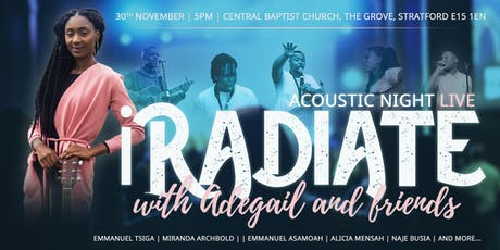 iRADIATE: Acoustic Night Live tickets