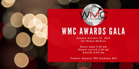 8th Annual WMC Awards Gala tickets