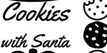 Decatur FCCLA Cookies with Santa