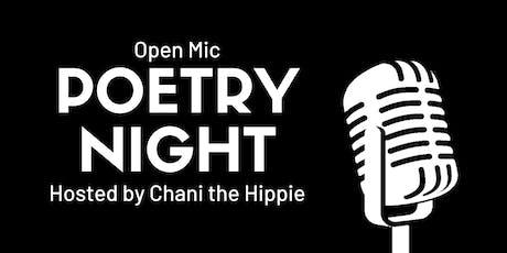 Open Mic Poetry Night tickets