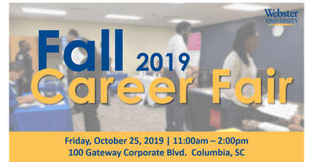 Webster University's Fall Career Fair tickets