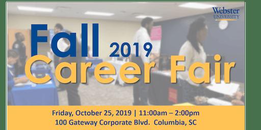 Webster University's Fall Career Fair