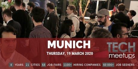 Munich Tech Job Fair Spring 2020 by Techmeetups Tickets