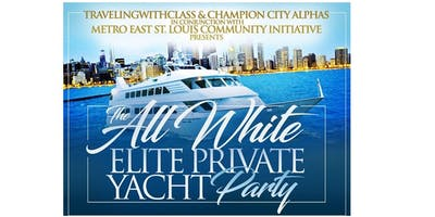 The All White Elite Private Yacht Party