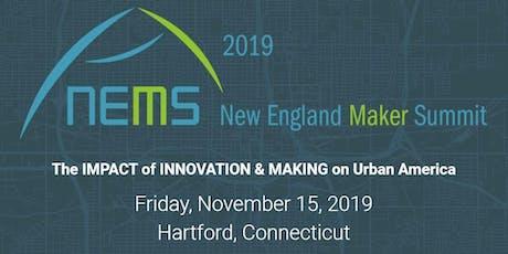 New England Maker Summit 2019 tickets