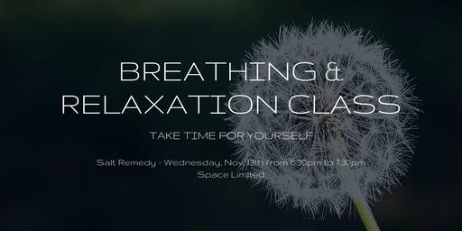 Breathing & Relaxation Class