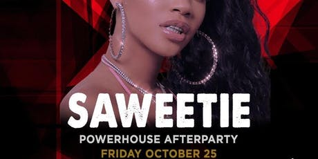 Saweetie @ Noto Philly October 25 Powerhouse Afterparty tickets