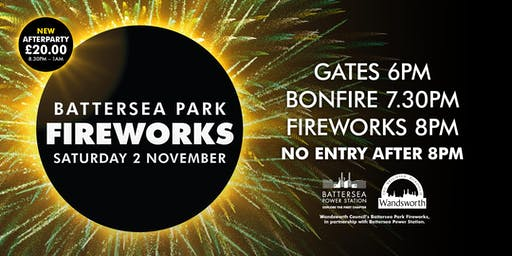 Wandsworth Council's Battersea Park Fireworks 2019