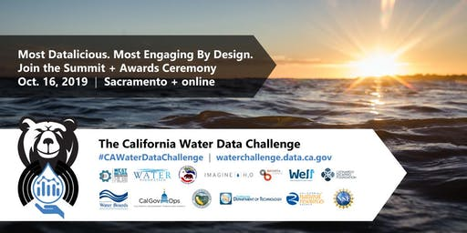 California Water Data Challenge Summit + Awards Ceremony 2019