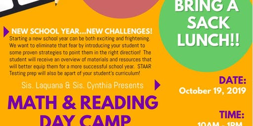Math & Reading Day Camp