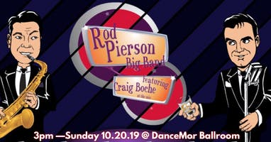 Rod Pierson BIG BAND - Fall Ball!