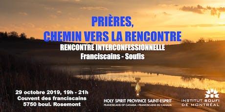Rencontre interconfessionnelle, Franciscains et Soufis billets