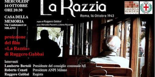 """Proiezione docu film  """"La razzia. Roma 16 ottobre 1943"""""""