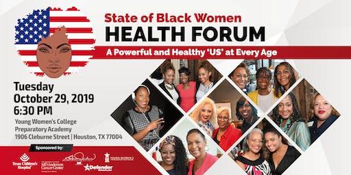 State of Black Women Health Forum