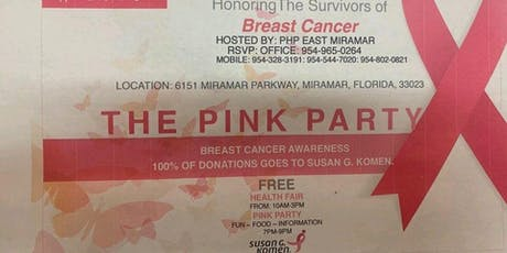 The Pink Party - Honoring the Survivors tickets