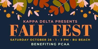 Kappa Delta's Annual Fall Festival 2019