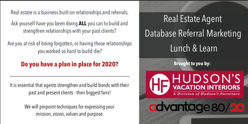 Real Estate Lunch & Learn & Wine Tasting: Get More Referrals Now!