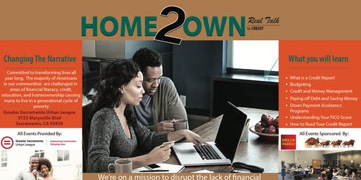 Home2Own Real Talk  to Credit