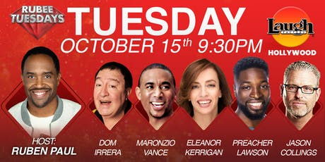 Preacher Lawson, Dom Irrera, and more - Rubee Tuesday! tickets