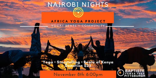 Nairobi Nights to benefit Africa Yoga Project